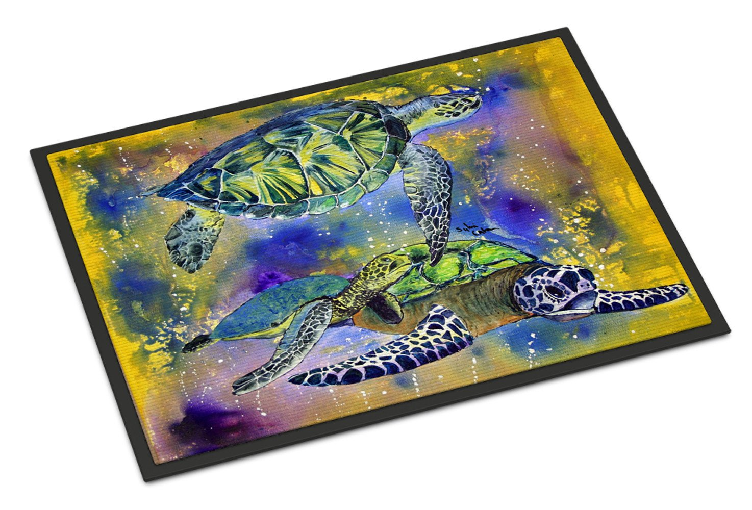 Turtle Indoor or Outdoor Mat 24x36 by Caroline's Treasures