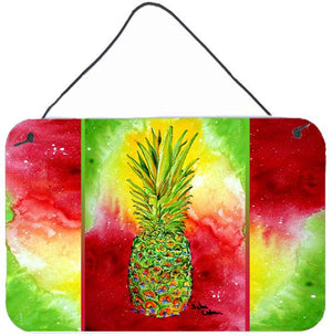 Buy this Pineapple  Indoor or Aluminium Metal Wall or Door Hanging Prints