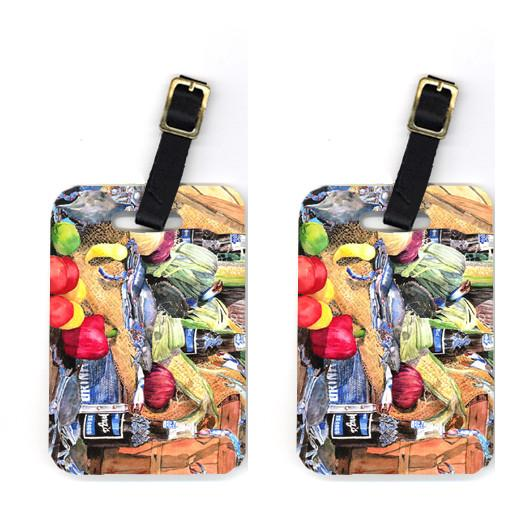Buy this Pair of Barq's and Crabs Luggage Tags