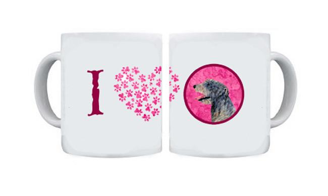 Irish Wolfhound  Dishwasher Safe Microwavable Ceramic Coffee Mug 15 ounce SS4782 by Caroline's Treasures