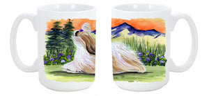 Buy this Shih Tzu Dishwasher Safe Microwavable Ceramic Coffee Mug 15 ounce SS8179CM15