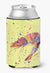 Shrimp on yellow Can or Bottle Beverage Insulator Hugger by Caroline's Treasures