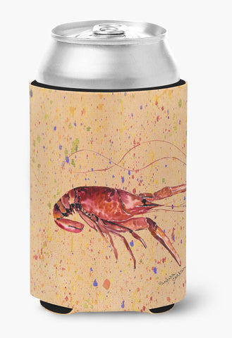 Buy this Crawfish on Coral Can or Bottle Beverage Insulator Hugger