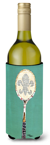 Buy this Fleur de lis Tennis Wine Bottle Beverage Insulator Beverage Insulator Hugger