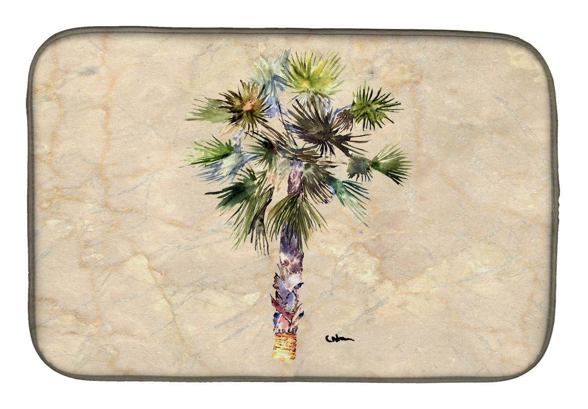 Buy this Palm Tree Dish Drying Mat 8481DDM