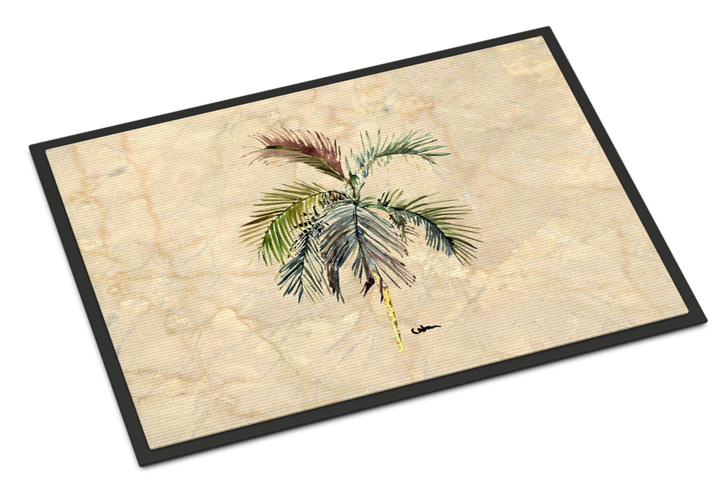Palm Tree Indoor or Outdoor Mat 18x27 - the-store.com