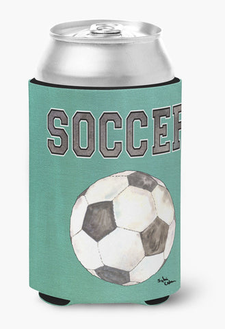 Buy this Soccer Can or Bottle Beverage Insulator Hugger