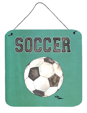 Buy this Soccer Aluminium Metal Wall or Door Hanging Prints
