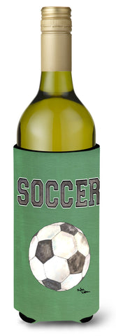 Buy this Soccer Wine Bottle Beverage Insulator Beverage Insulator Hugger