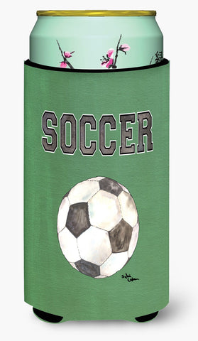 Buy this Soccer  Tall Boy Beverage Insulator Beverage Insulator Hugger