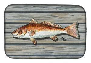 Buy this Red Fish Dish Drying Mat 8489DDM