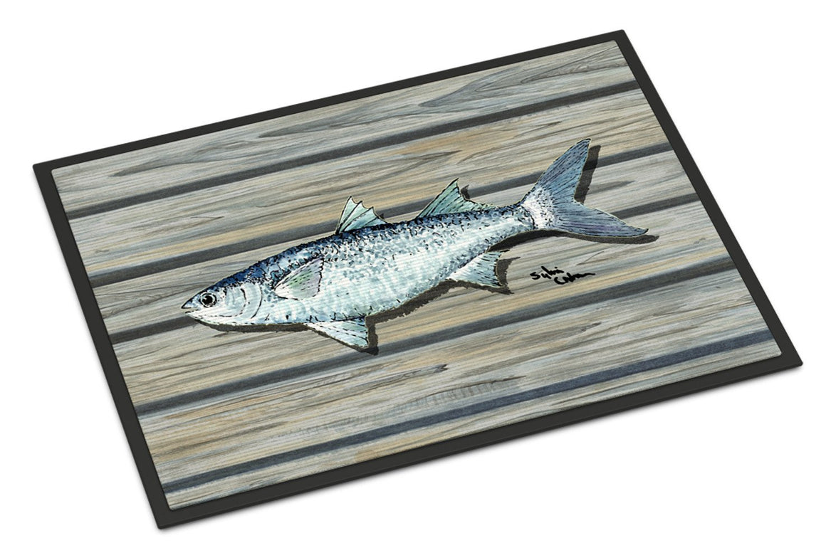 Buy this Fish Mullet Indoor or Outdoor Mat 24x36 8490 Doormat