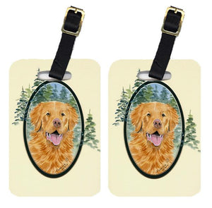 Buy this Pair of 2 Nova Scotia Duck Toller Luggage Tags