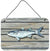 Buy this Fish Mullet Aluminium Metal Wall or Door Hanging Prints