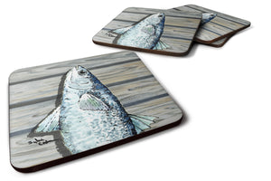 Buy this Set of 4 Mullet Foam Coasters
