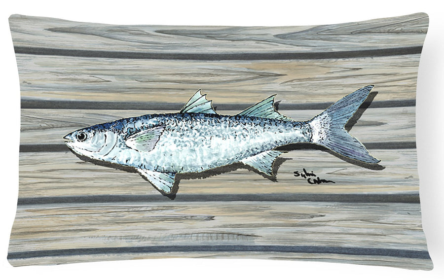 Buy this Fish Mullet   Canvas Fabric Decorative Pillow