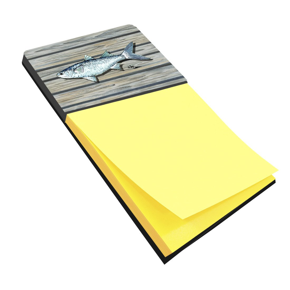 Buy this Fish Mullet Refiillable Sticky Note Holder or Postit Note Dispenser 8490SN