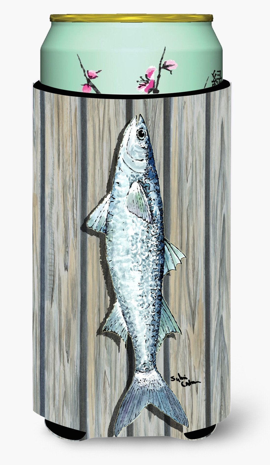Buy this Fish Mullet  Tall Boy Beverage Insulator Beverage Insulator Hugger