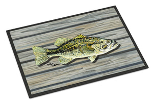 Buy this Fish Bass Small Mouth Indoor or Outdoor Mat 24x36 8493 Doormat