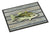 Fish Bass Small Mouth Indoor or Outdoor Mat 24x36 8493 Doormat by Caroline's Treasures