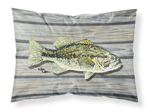 Buy this Fish Bass Small Mouth Moisture wicking Fabric standard pillowcase