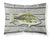Fish Bass Small Mouth Moisture wicking Fabric standard pillowcase by Caroline's Treasures