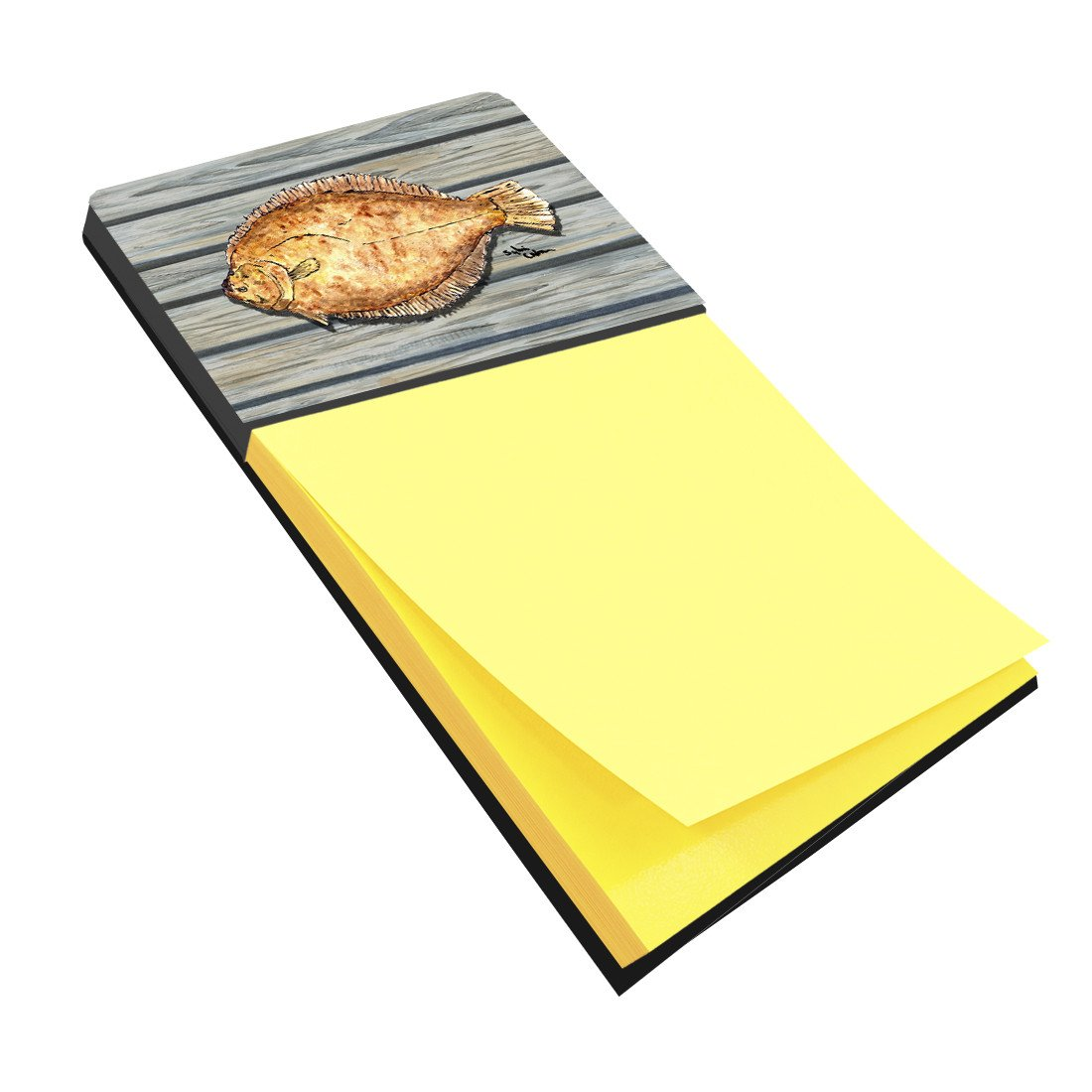 Buy this Fish Flounder Refiillable Sticky Note Holder or Postit Note Dispenser 8495SN