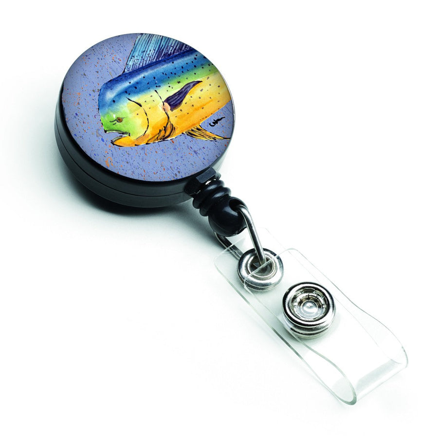 Buy this Dolphin Mahi Mahi Retractable Badge Reel 8521BR