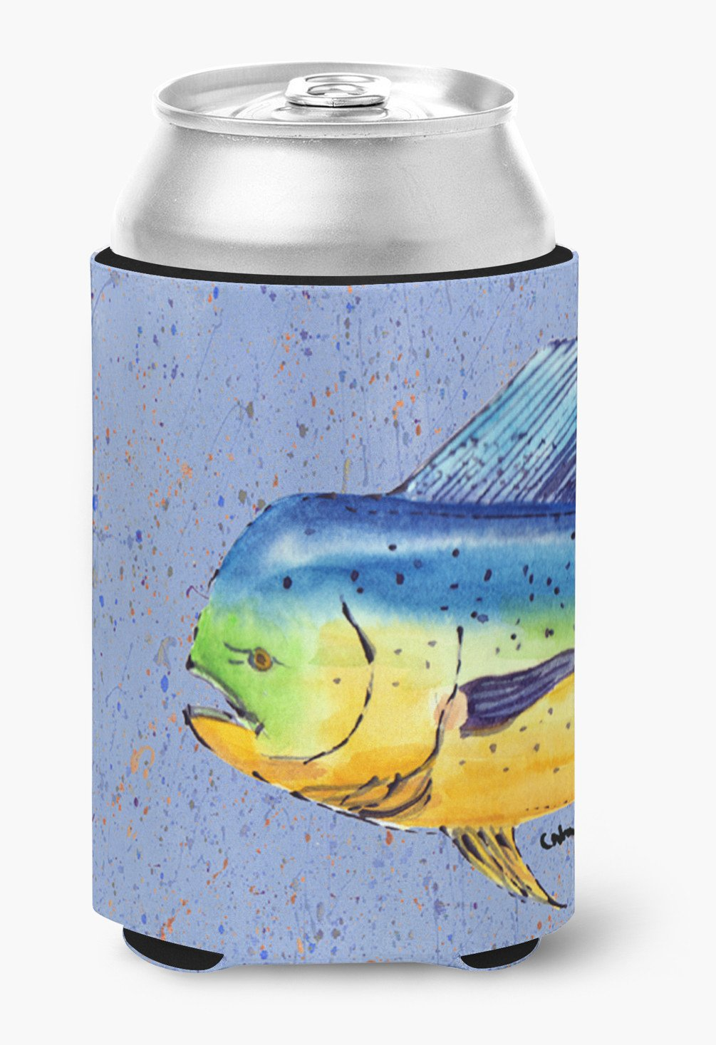 Buy this Dolphin Mahi Mahi Can or Bottle Beverage Insulator Hugger