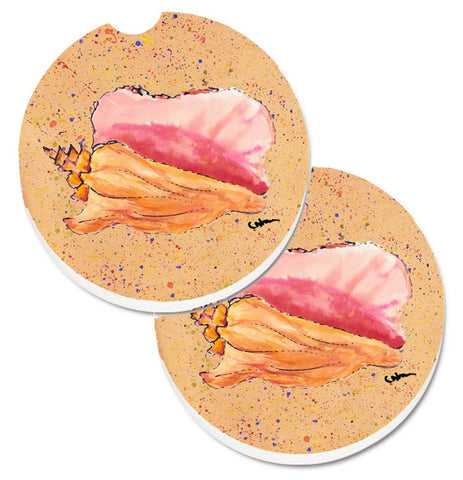 Buy this Shells Set of 2 Cup Holder Car Coasters 8522CARC