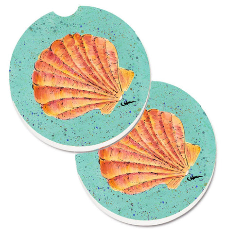 Buy this Shells Set of 2 Cup Holder Car Coasters 8523CARC