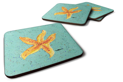 Buy this Set of 4 Starfish Foam Coasters
