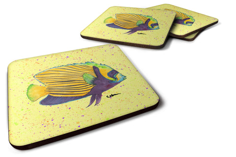 Buy this Set of 4 Tropical Fish Foam Coasters