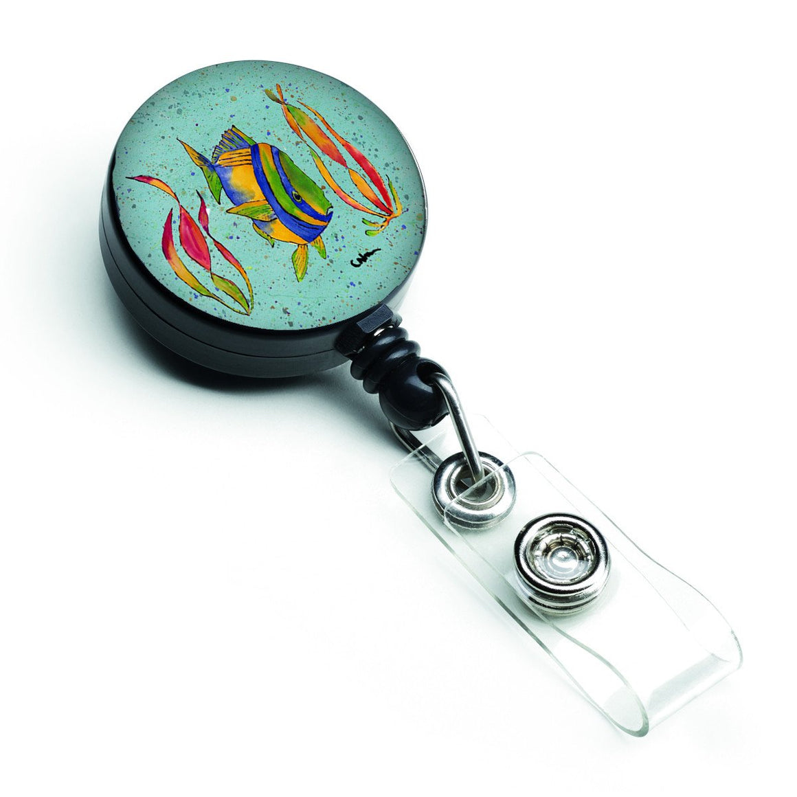 Buy this Tropical Fish Retractable Badge Reel 8530BR