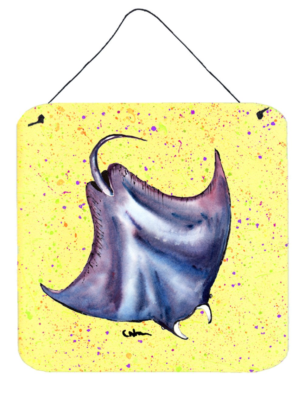 Buy this Stingray Aluminium Metal Wall or Door Hanging Prints
