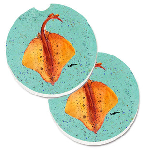 Buy this Stingray Set of 2 Cup Holder Car Coasters 8532CARC