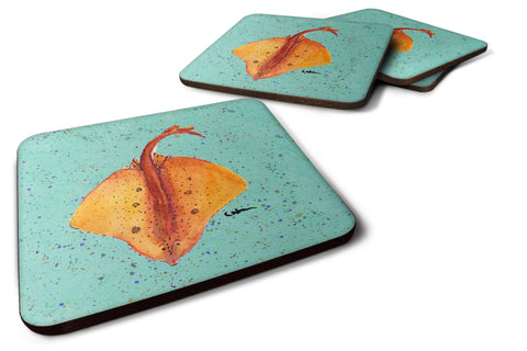 Buy this Set of 4 Stingray Foam Coasters