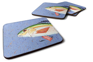 Buy this Set of 4 Fish Rainbow Trout Foam Coasters