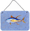 Tuna Fish Aluminium Metal Wall or Door Hanging Prints by Caroline's Treasures