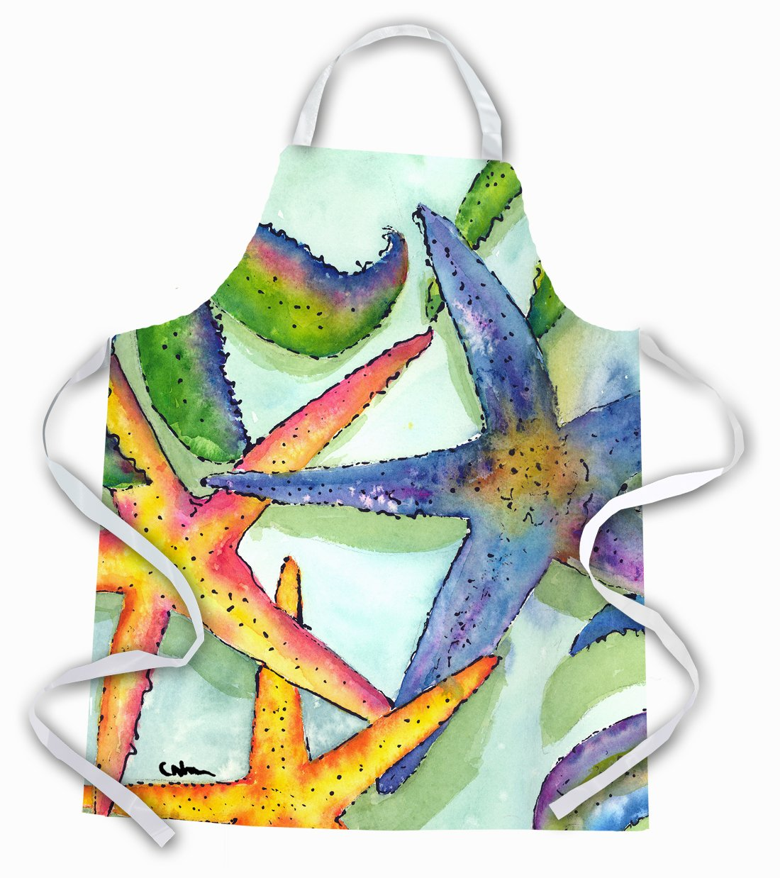 Starfish  Apron by Caroline's Treasures