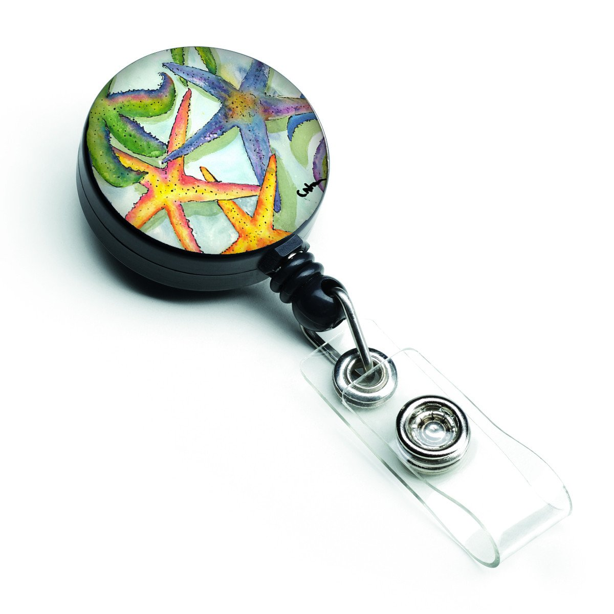 Starfish Retractable Badge Reel 8542BR by Caroline's Treasures