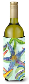 Starfish Wine Bottle Beverage Insulator Beverage Insulator Hugger by Caroline's Treasures
