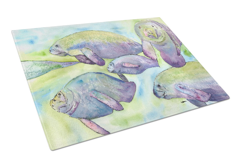 Buy this Manatee  Glass Cutting Board Large