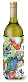 Fish Dolphin Mahi Mahi Wine Bottle Beverage Insulator Beverage Insulator Hugger by Caroline's Treasures