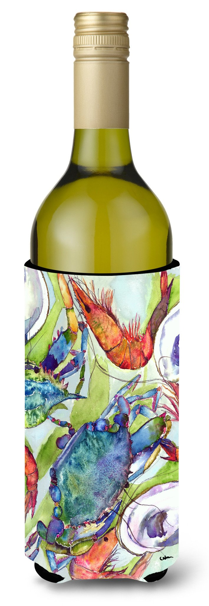 Buy this Fish Dolphin Mahi Mahi Wine Bottle Beverage Insulator Beverage Insulator Hugger