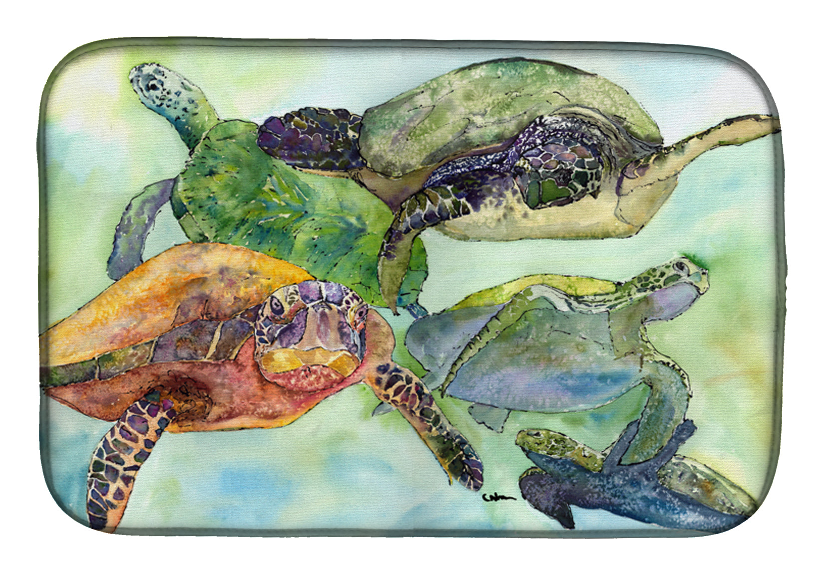 Buy this Turtle Dish Drying Mat 8549DDM