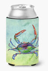 Crab Can or Bottle Beverage Insulator Hugger by Caroline's Treasures