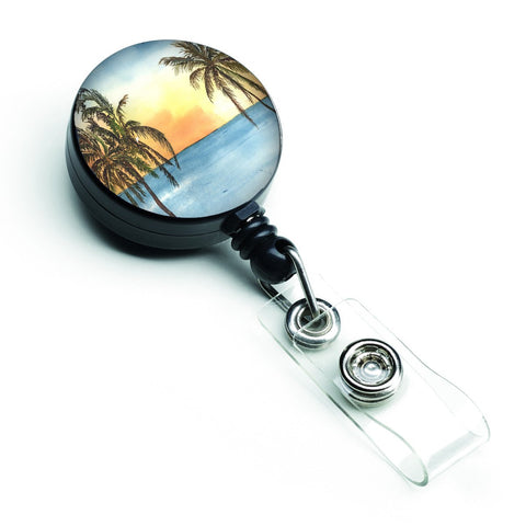 Buy this Palm Tree Retractable Badge Reel 8551BR