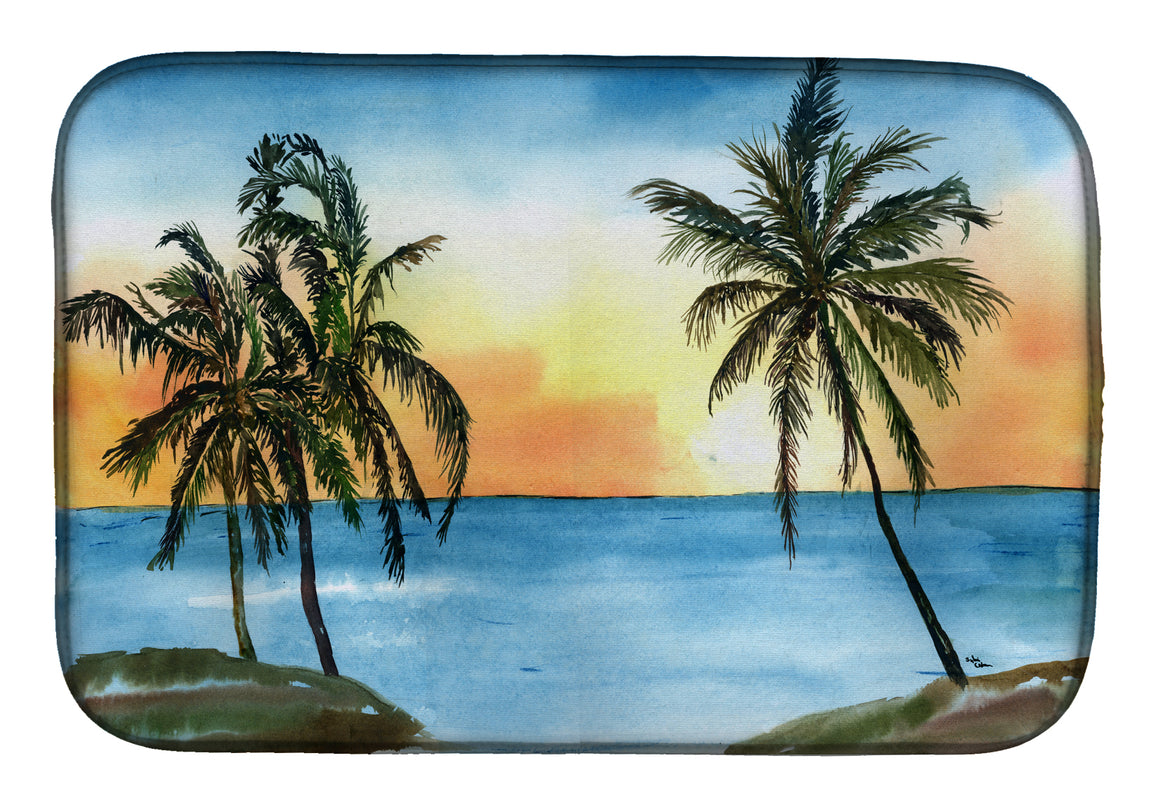 Buy this Palm Tree Dish Drying Mat 8551DDM