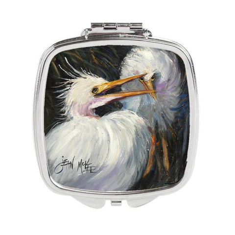 Buy this White Egret Compact Mirror JMK1213SCM
